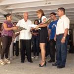 Yudit Pitch Pomares recibe su Título de Oro en Ingeniería Industrial.