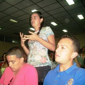 Ludy Rosado Peña llamó a sus compañeros del Contingente a motivar y transformar mucho más a sus alumnos.