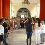 Visita a la Academia de Arte Vicentina de la Torre.