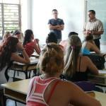 Integrantes del Consejo de Dirección de la UC sumados al diálogo.