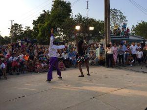 Festival de Artistas Aficionados en Vertientes.