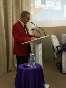 Dr. C. Lázaro Bueno, líder del proyecto Ajedrez para colorear.