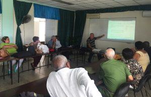 Omelio Rivero presenta el blog de la Cátedra.