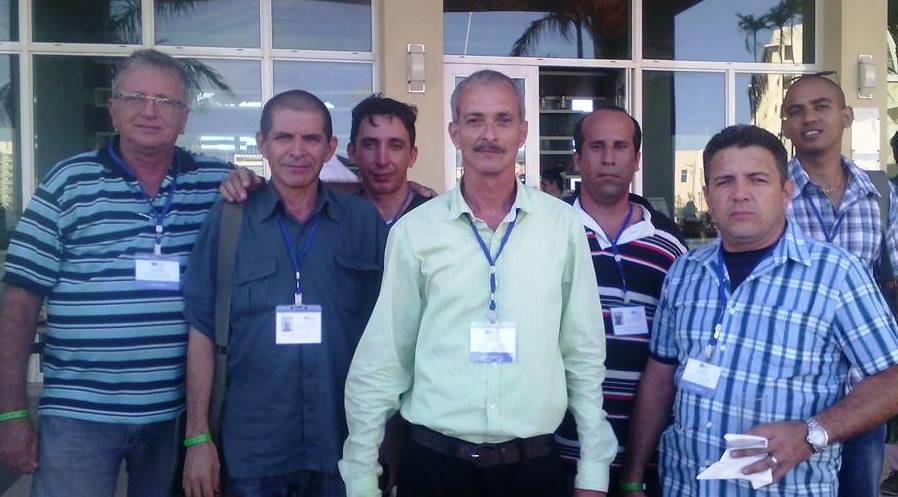 Delegación de la UIC en Camagüey que asistió a Cibersociedad 2017.