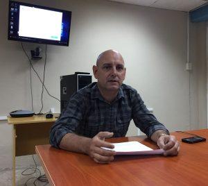 Dr. C. Julio Madera, Vicerrector de Informatización.