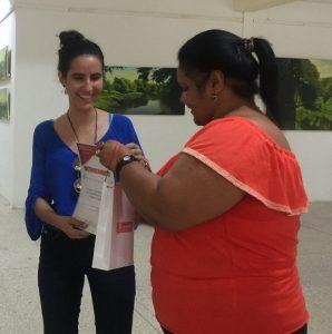 """Rachel Barredo, ganadora del concurso """"ERES MÁS""""."""
