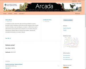 Revista Arcada.