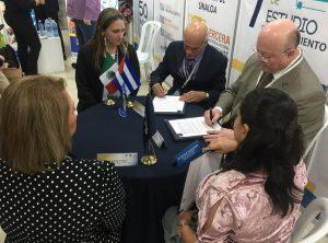 En su vínculo con homólogas de diversas latitudes, la UC firmó en el 2018 un total de 9 Convenios Marcos y reactivó dos. Actualmente 9 están en la categoría de Trámites y otros tres en