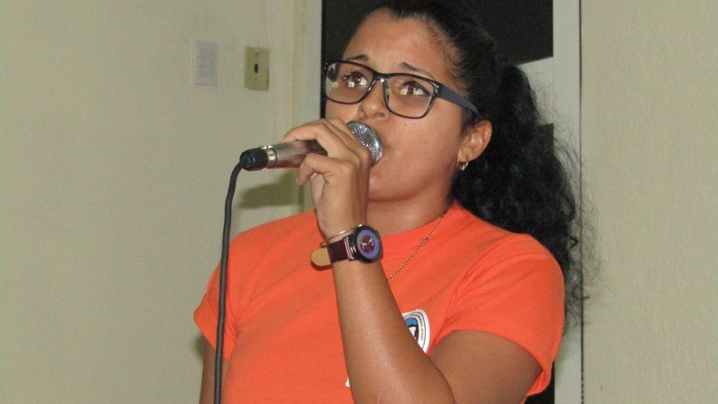 Solista Yohana Barreto Castro.